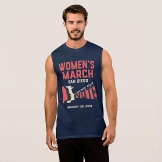 T-shirt Sans Manches Réservoir officiel de mars San Diego mars des