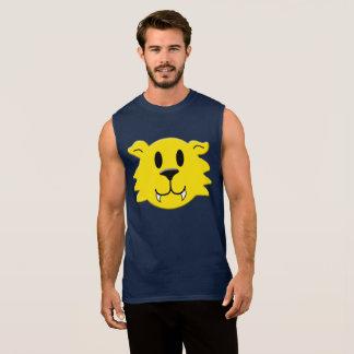 T-shirt Sans Manches Smiley de loup-garou