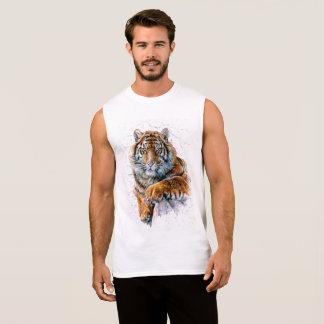 T-shirt Sans Manches Tigre