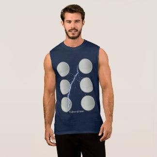 T-shirt Sans Manches Vient d'abord la foudre - une chemise de MisterP