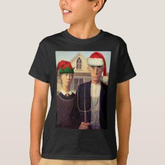 T-shirt Santa gothiques américaines