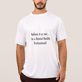 T-shirt Santé mentale Professionnelle-Psych. Humour