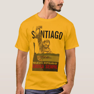 T-SHIRT SANTIAGO CUBA