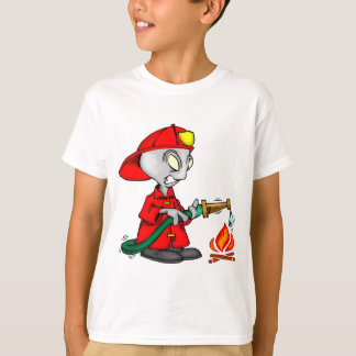 T-shirt Sapeur-pompier étranger