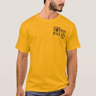 T-shirt Sarah nation de Palin 2012 - un