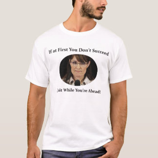T-shirt Sarah Palin démissionne