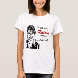 T-shirt Sarah Palin - la Russie