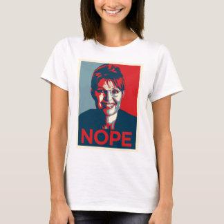 T-shirt Sarah Palin.  Nope