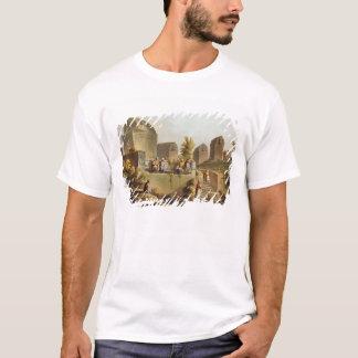 T-shirt Sarcophages et tombes à la tête du Harbo