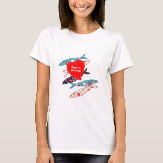 T-shirt Sardines fabriquées au Portugal
