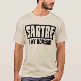 T-shirt Sartre est mon Homeboy