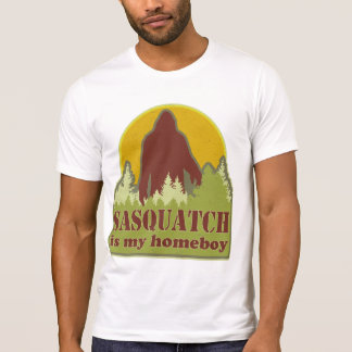 T-shirt Sasquatch est mon Homeboy