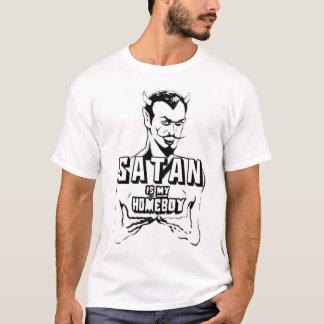 T-shirt Satan est mon Homeboy