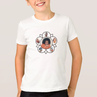 T-shirt Sathya Sai Baba Sarva Dharma Symbo sur des enfants