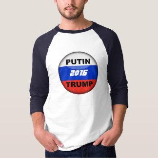 T-shirt satirique 2016 du Russe 3/4 d'atout drôle