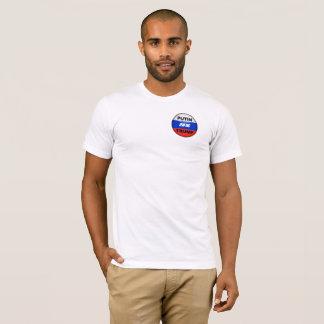T-shirt satirique cyrillic2016-Front d'atout et