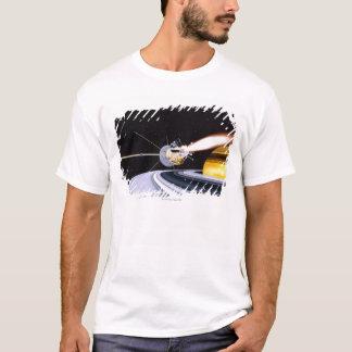 T-shirt Saturn orbital satellite