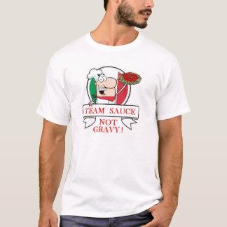 T-shirt Sauce au jus de sauce à équipe pas