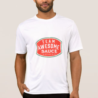 T-shirt Sauce impressionnante à équipe