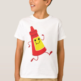 T-shirt sauce tomate courante