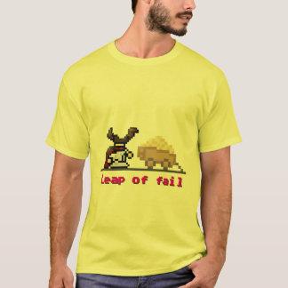 T-shirt saut à 8 bits d'échouer