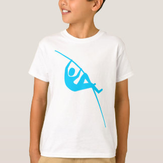 T-shirt Saut à la perche - bleu de ciel