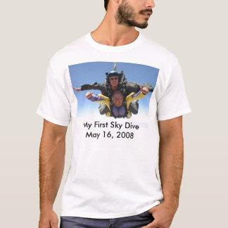 T-shirt Saut de ciel de George soixante-troisième, mon