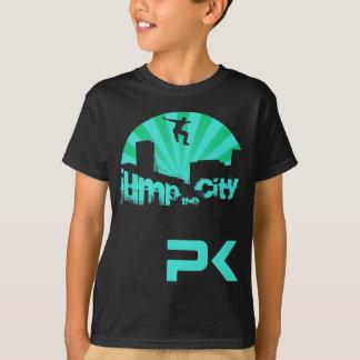 T-shirt Saut de toit de Parkour