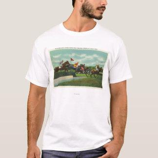 T-shirt Saut d'eau de chasse de Steeple à la voie de