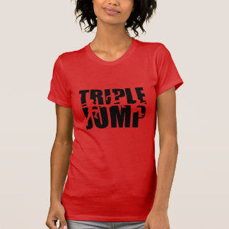 T-shirt Saut triple