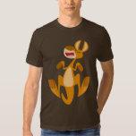 T-shirt sautant de kangourou de bande dessinée