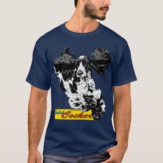 T-shirt Sauter anglais de cocker