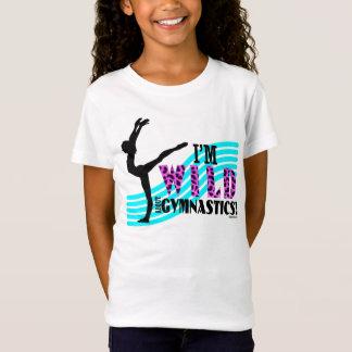 T-Shirt Sauvage au sujet de la gymnastique