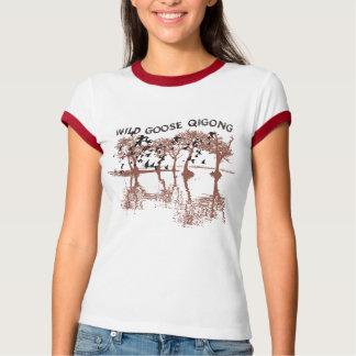 T-shirt sauvage de Qigong d'oie