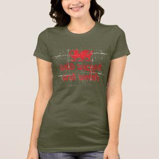 T-shirt sauvage-mauvais-gallois
