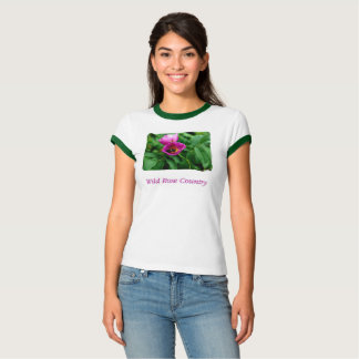 T-shirt Sauvagement rose Country