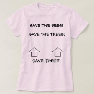 """T-shirt """"Sauvez ces derniers"""" pièce en t"""