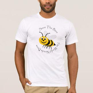 T-shirt Sauvez la conception d'abeille