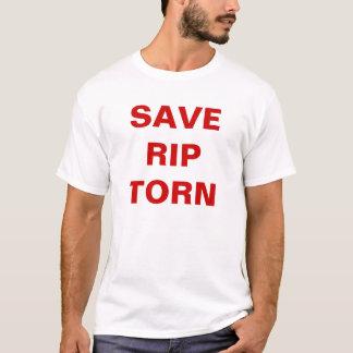 T-shirt Sauvez la déchirure déchirée