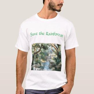 T-shirt sauvez la forêt tropicale