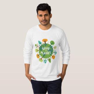 T-shirt Sauvez la planète