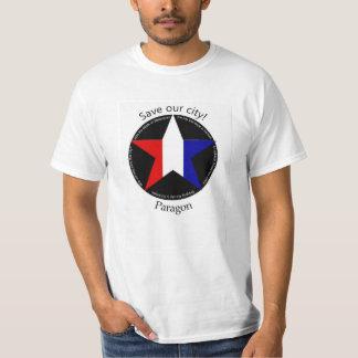 T-shirt Sauvez la ville de parangon