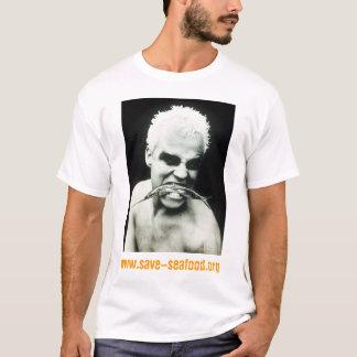 T-shirt Sauvez la visite de fruits de mer