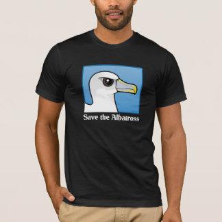 T-shirt Sauvez l'albatros (le portrait)