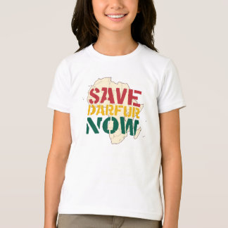 T-shirt Sauvez le Darfour maintenant