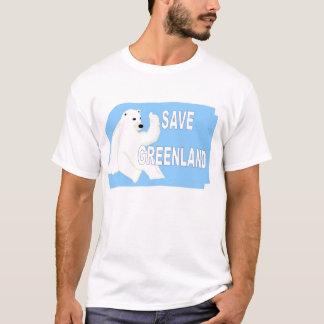 T-shirt Sauvez le Groenland