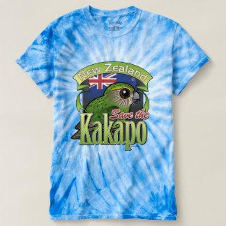 T-shirt Sauvez le Kakapo de la Nouvelle Zélande