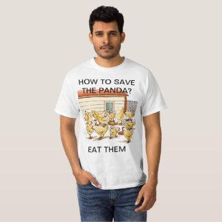 T-shirt sauvez le panda