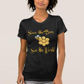 T-shirt Sauvez les abeilles sauvent le monde