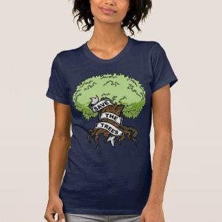 T-shirt Sauvez les arbres